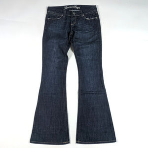 American Eagle Real Flare Size 0R Dark Wash Jeans